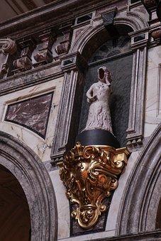 Faceless Sculpture, Old, Beautiful, Berlin Dom, Church