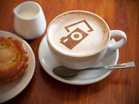 Coffee, Cappuccino, Drink, Pixabay, Food, Logo, Cup