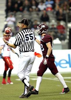 Football, Football Game, Referee, Football Referee