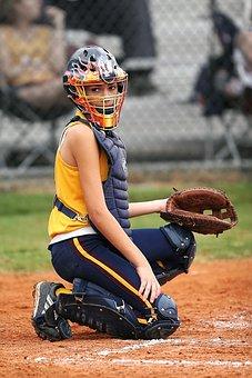 Softball, Catcher, Girls Softball, High School, Sport