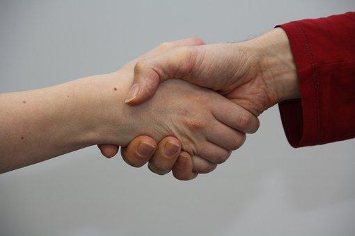 Hands, Shake, Give