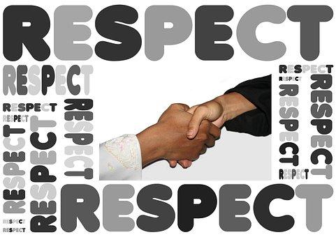 Handshake, Haendeschuettel, Respect, Awe, Attention