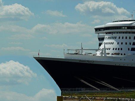 Dock, Ship, Elbe, Port, Hamburg, In The Dry Dock