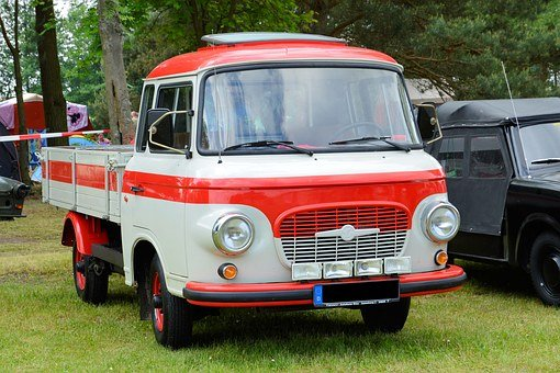 Auto, Old, Historically, Barkas B1000, Eastern Mobile
