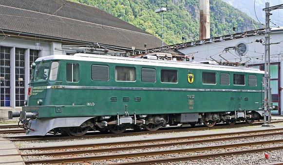 Gotthard Locomotive, Sbb Historic, Kantonslok, Famous