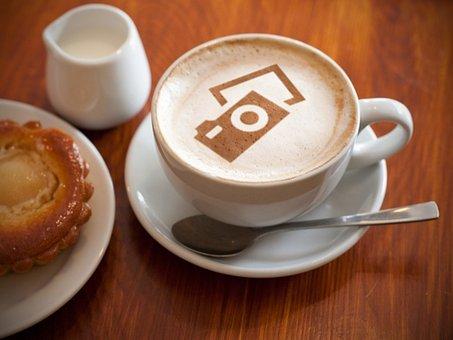 Coffee, Cappuccino, Drink, Pixabay, Food, Logo, Cup