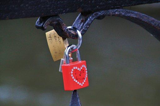 Castle, Castles, Padlock, Love Castle, Love Symbol