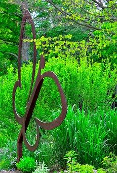 Garden Statue, Niagara Butterfly Conservatory, Fixture