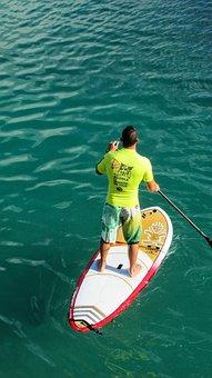 Paddling, Paddleboard, Sport, Paddleboarding