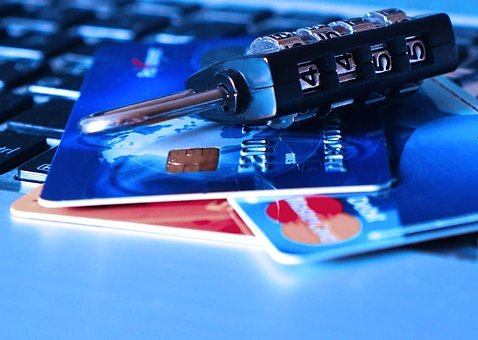 Credit Card, Bank Card, Theft, Charge Card, Padlock