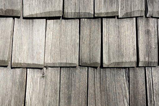 Wood, Shingle, Facade Cladding, Wood Shingles, Pattern