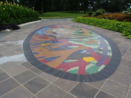 Druid Hill Park, Conservatory, Art, Urban, Plants