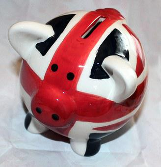 Pygg, British, Bank, Coin, Union Jack, Money, Finance