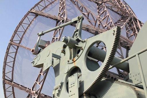 Germany, Berlin, Gatow, Museum, Airforce, Radar, Dish