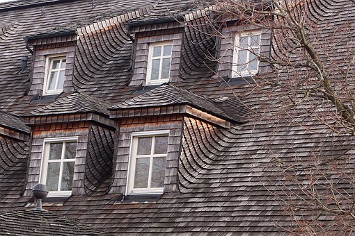 Shingle, Wood, Wood Shingle, Roofing, Material, Roof