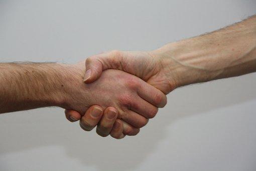 Hands, Give, Shake