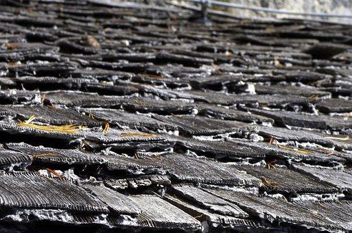 Roof, Shingle, Wood Shingle, Wooden Roof, Shingle Roof