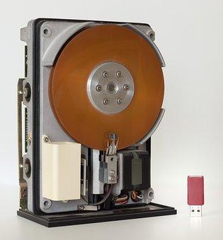 Hard Drive, Technology, Flash, Storage, Data, Drive