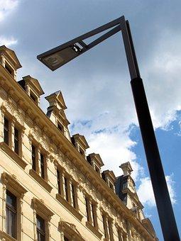 Street Facades, Street Light, Classically Modern