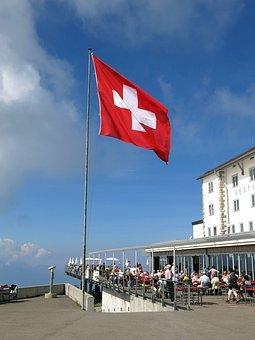 Rigi, Summit, Hotel, View, Alpine, Switzerland, Holiday