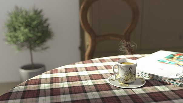 Tea Table, Tea, Table, Morning, Cup, Hot, Drink, Liquid