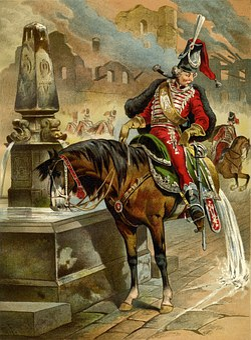Baron Munchausen, The Horse At The Fountain, Tall Tales