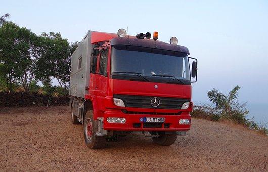 Camper, Truck, Travel, Vehicle, Van, Caravan