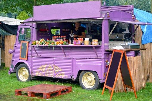 Citroën Hy, Food Truck, Verkoopwagen, Food Festival