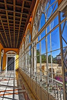 Conservatory, Greenhouse, Glass, Windows, Light, Indoor