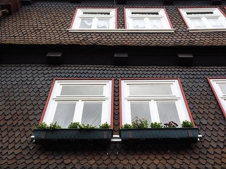 Shingle, Wood Shingles, Facade Cladding, House