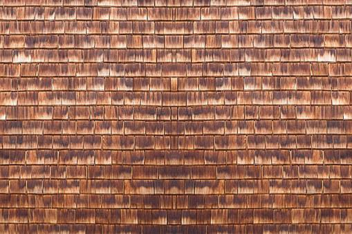 Wooden Wall, Slate Wall, Shingle, Background, Wood