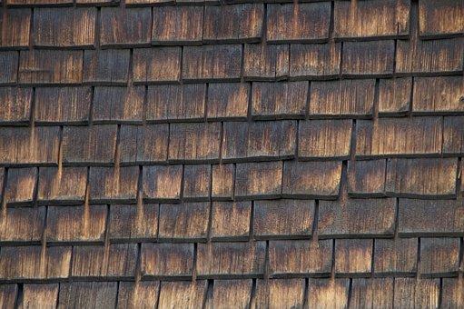 Shingle, Wood, Woods, Wood Shingle, Panel