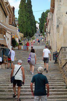 Staircase, A Long Flight Of Stairs, 365 Steps