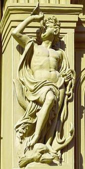 Art Nouveau, Facade, Detail, Architecture, House Facade