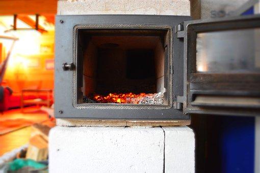 Oven, Embers, Ash, Heat