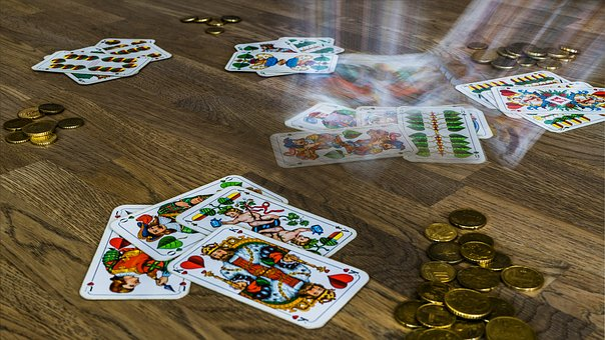 Sheep Heads, Card Game, Bavaria, Bavarian, Table