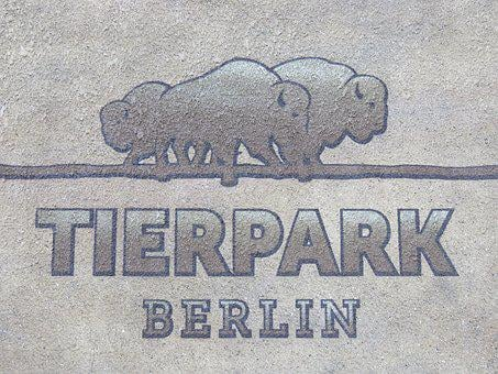 Zoo, Berlin, Park, Wall Art, Directory, Shield, Logo