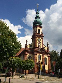 Bühl, Church, Beautiful, House Of Worship