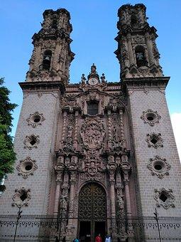 Mexico, Taxco, Church, Architecture
