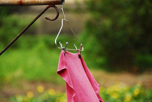 Clothes Rack, Towel, Iron Frame