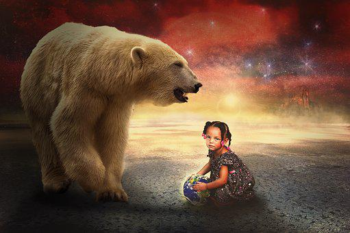 Composing, Bear, Light Star, Dream World, Atmospheric
