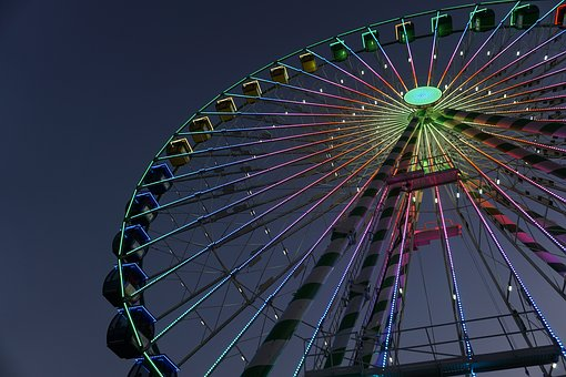 Ferris Wheel, Observation, Carnival, Attraction