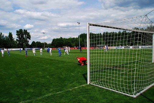 Football, Goal, Goalkeeper, Sport, Ball, Ball Game