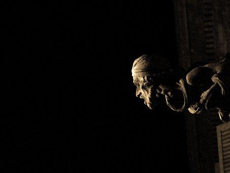 Gargoyle, Gothic Quarter, Barcelona, Catalonia