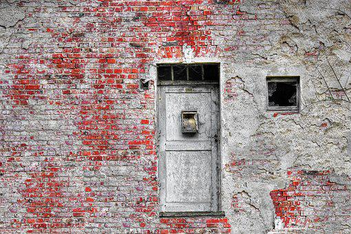 House, Old, Wall, Old House, Old Building, Lapsed