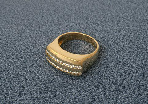 Gold, Ring, Jewelry, Golden, Engagement, Jewellery