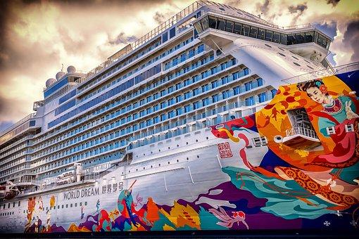 Ship, Cruise, Cruise Ship, Vacations, Mass Tourism