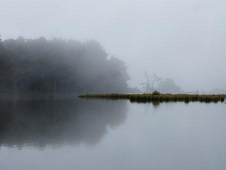 Lake, Reflection, Symbolism, Sadness, Dream, Melancholy