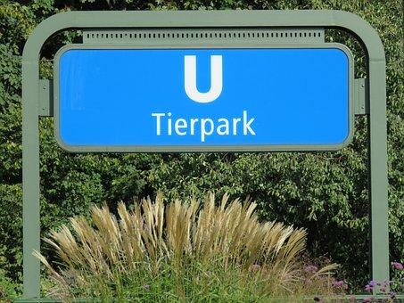 Zoo, Berlin, Metro, U5, Train, Stop, Station, Bvg