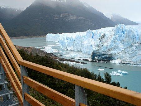 Ice, Glacial, Lake, Cold, Southern Argentina, Patagonia